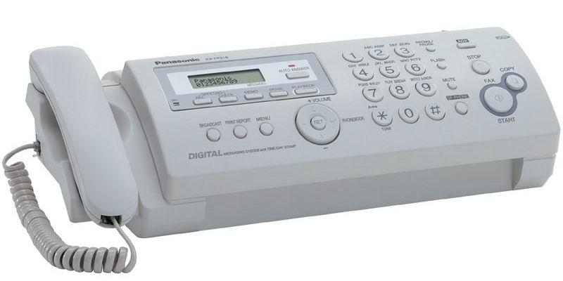 panasonic fax206